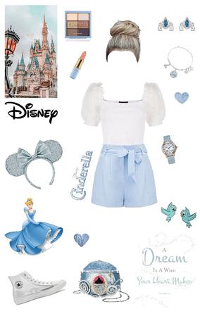 Disney-bounding: Cinderella
