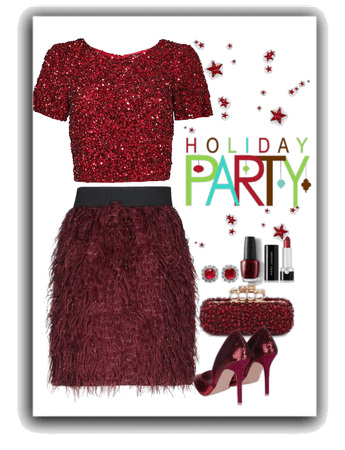 Monochromatic Holiday Party
