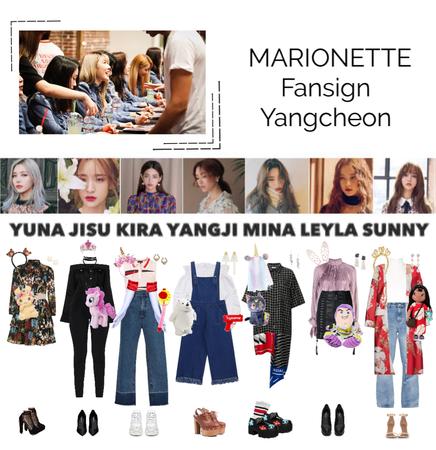 {MARIONETTE} Yangcheon Fansign