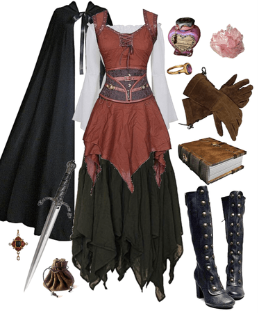 thieving medieval witch