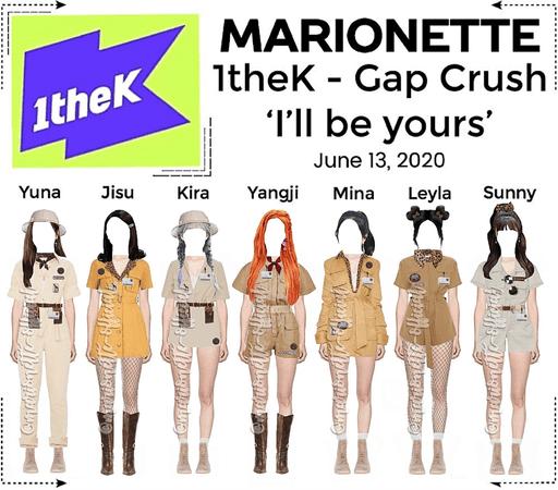 MARIONETTE (마리오네트) 1theK - Gap Crush