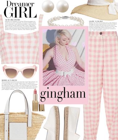 Spring Pink Gingham 2021