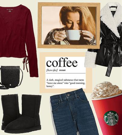 Wintertime Starbucks Run