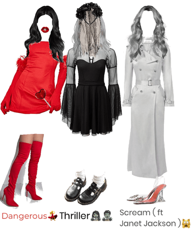 Michael Jackson songs as Outfits pt.3