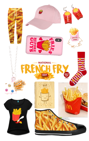 Nat. French fry day outfit