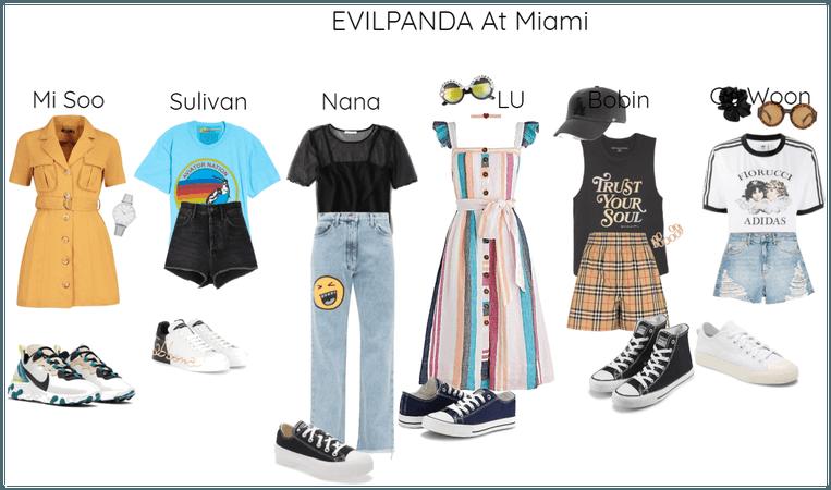 EVILPANDA At Miami