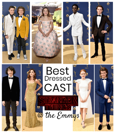 Best Dressed Cast; Emmy's