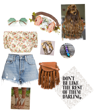 Hippy Nature girl