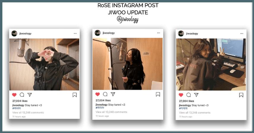 {RoSE}[Jiwoo] Official Instagram Post