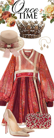 # royal wedding Crimson Elegance