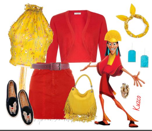 Kuzco outfit - Disneybounding - Disney