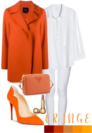 orange coat ✨