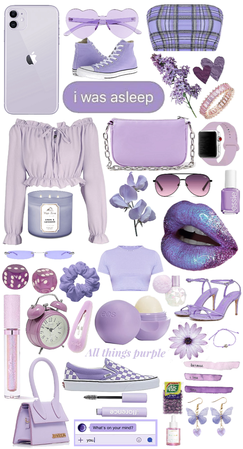 purple aesthetic