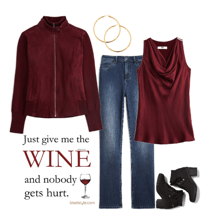 A Fall Outfit for Wine-o's