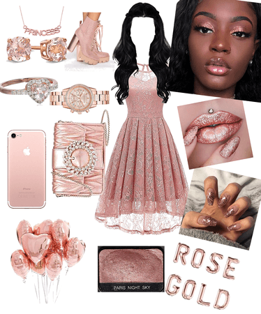 in the mood for rose gold