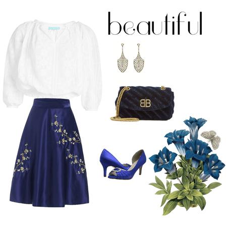 Navy blue beauty