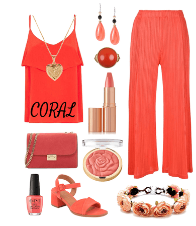Coral Outfit 2