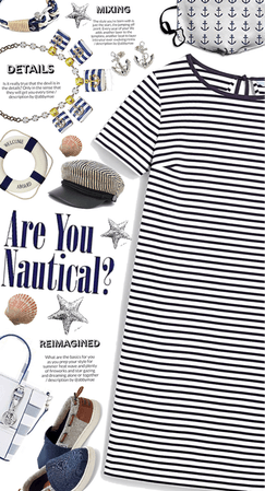 Get The Look: Nautical And Stripes