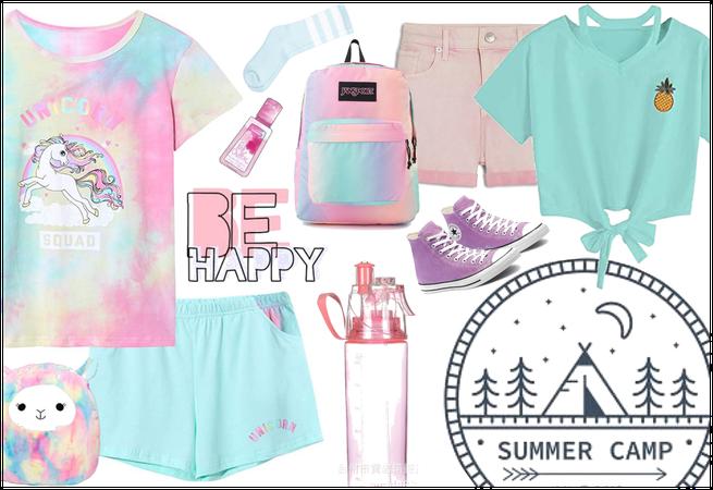 Summer Camp Throwback: Pastel