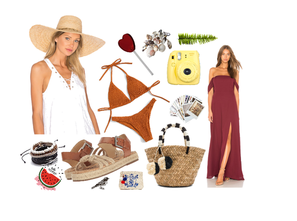 Summer outfit №1 by Julia Katkalo