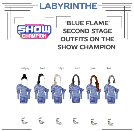 LABYRINTHE BLUE FLAME SECOND