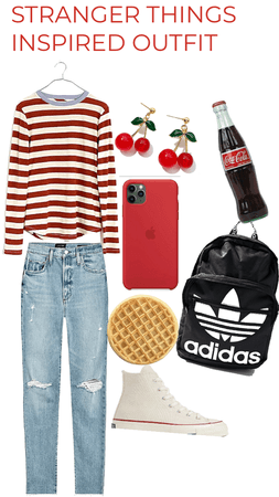 Stranger Things Inspired Outfit
