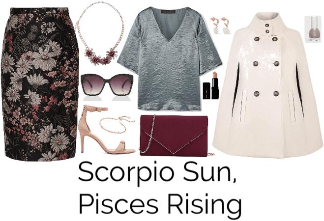 Scorpio Sun, Pisces Rising