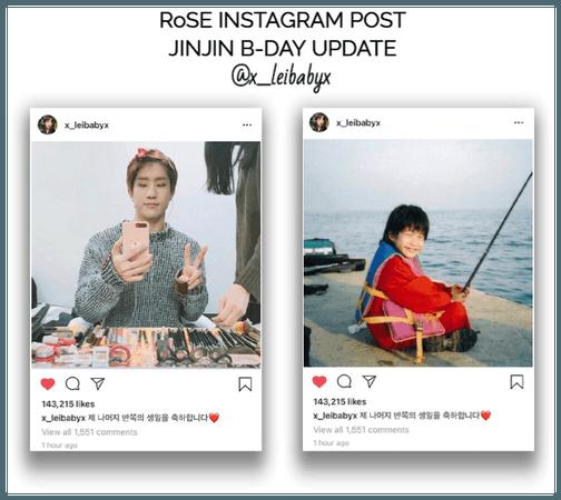{RoSE} [Lei] Official Instagram Post