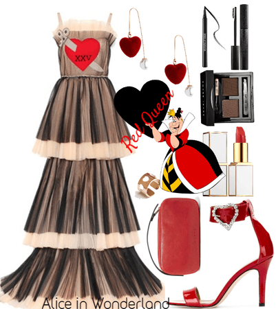 Halloween: Alice in Wonderland, Red Queen #1