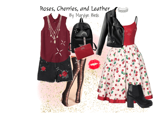 Roses, Cherries, and Leather