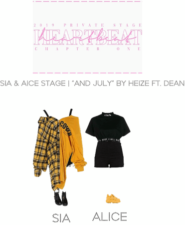 [HEARTBEAT] 2019 PRIVATE STAGE | SIA & ALICE STAGE