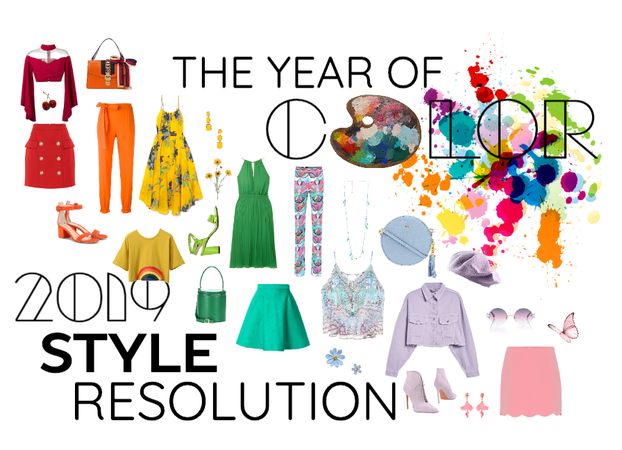 the year of color