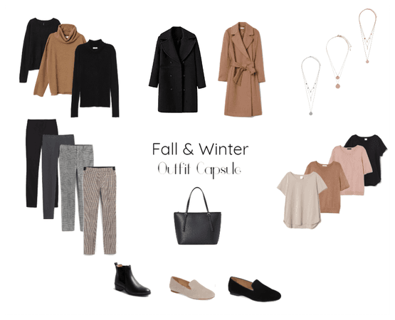 Fall & Winter Outfit Capsule