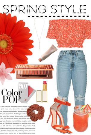 Orange Spring Style
