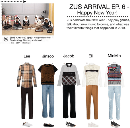 ZUS ARRIVAL Ep.6 - New Year Celebration!