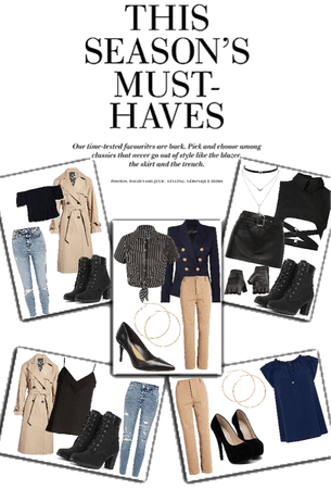 THIS SEASON'S MUST-HAVES