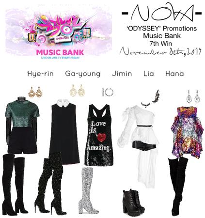 -NOVA- 'ODYSSEY' Music Bank Stage
