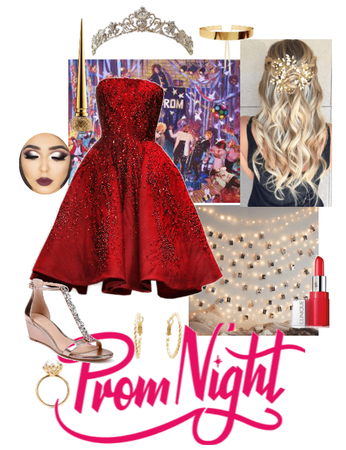 Prom red
