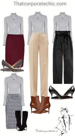 Business Casual Workwear ||Fall WorkOutfits
