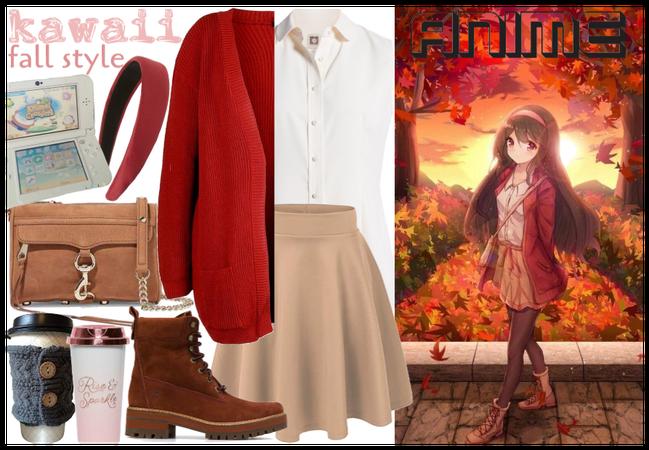 Anime Style - fall