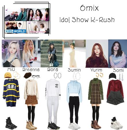 6mix Doing Idol Show K-Rush