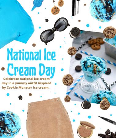 national ice cream day 🍪🍦