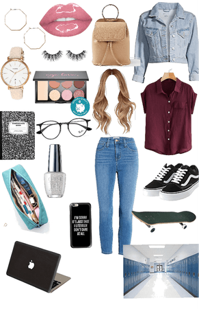 Back to school teens outfit
