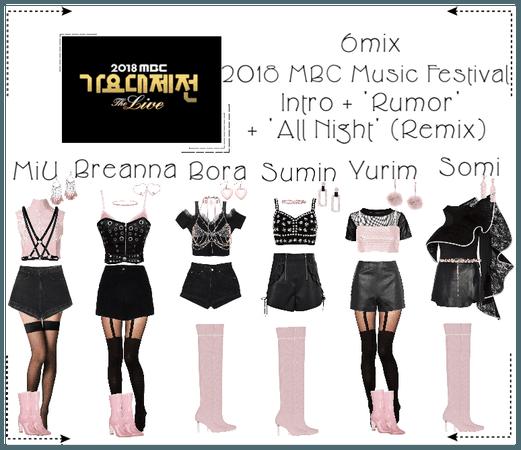 《6mix》2018 MBC Music Festival