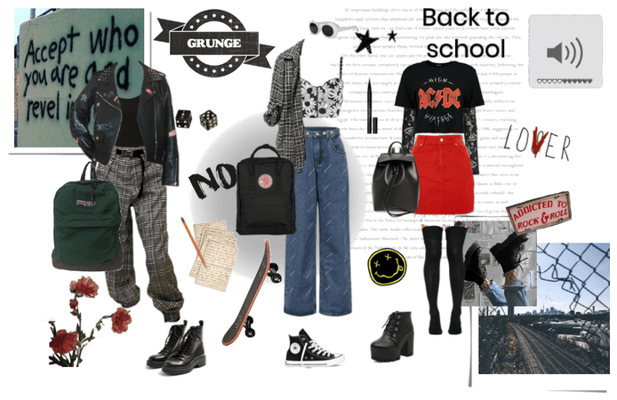 Grunge Is Back To School