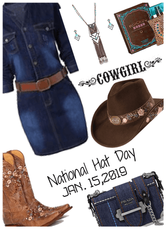 National Hat Day/Cowgirl Style