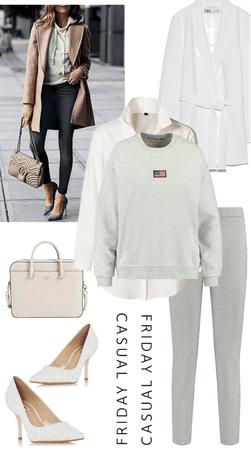hoodie in heels