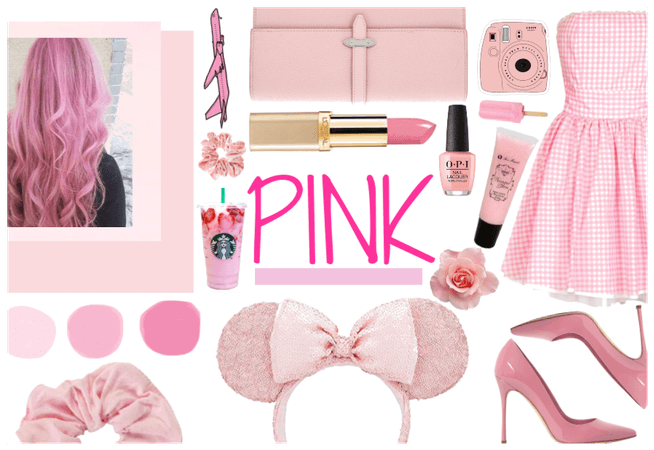 Pink inspired outfit
