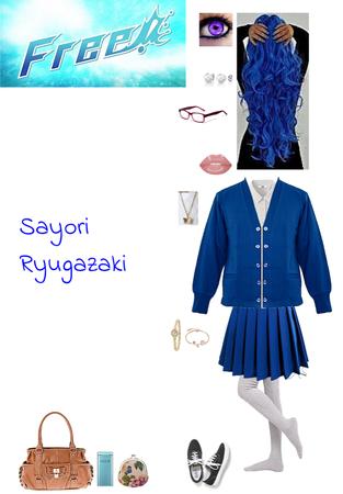 Free! - Iwatobi Swim Club series OC: Sayori Ryugazaki