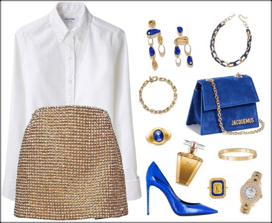 Golden & Blue Class